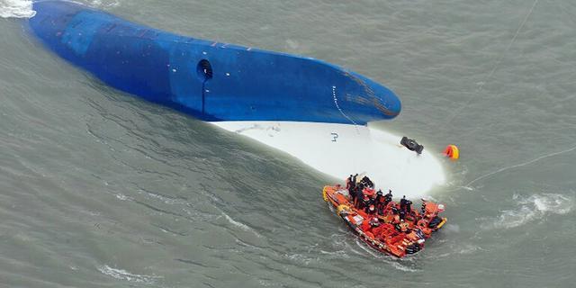 Dinsdag: Veerboot Zuid-Korea, gifverf-affaire en Glazen Huis