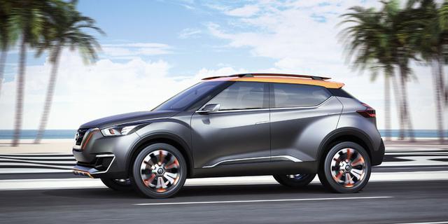 Nissan Kicks Concept is speciaal voor Brazilië