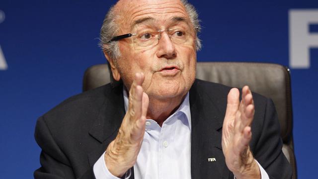 Blatter weigert in debat te gaan met kandidaten voorzitterschap