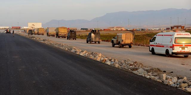 Peshmerga's en Syrische rebellen versterken Kobani