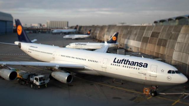 Lufthansa schrapt ruim 400 vluchten