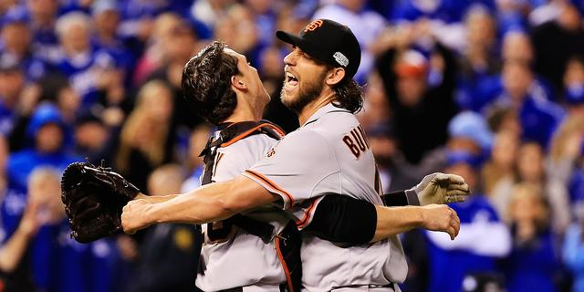 Giants winnen World Series voor derde keer in vijf jaar