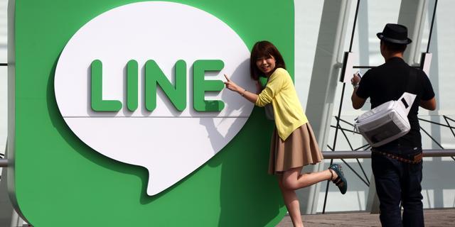 Chat-app Line ziet omzet verdubbelen