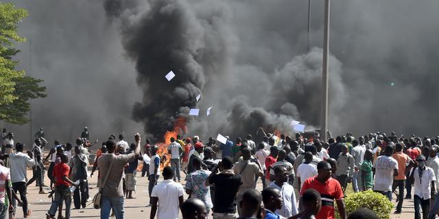 Wet herverkiezing Burkinese president Blaise Compaoré ingetrokken