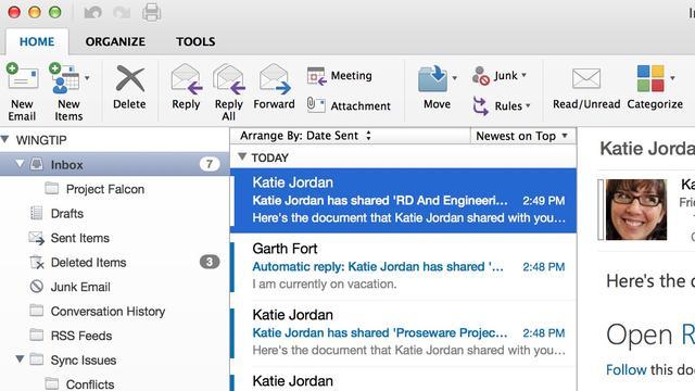 Nieuwe Outlook voor Mac beschikbaar voor Office 365-abonnees