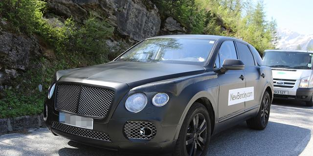 Bentley-SUV mogelijk ook als diesel