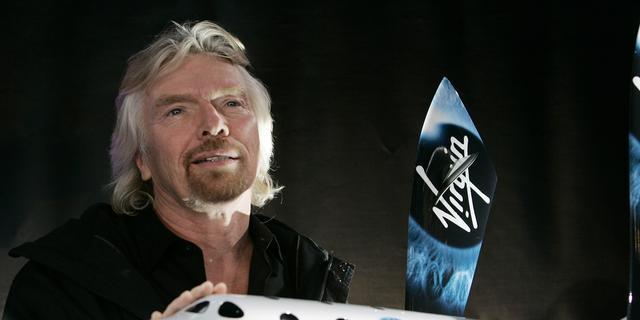 Richard Branson wil deze zomer zelf de ruimte in