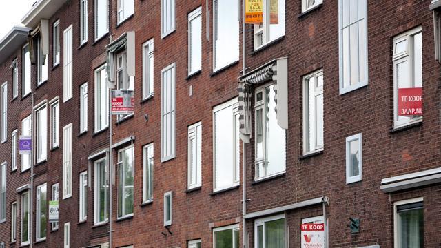Huizenprijzen hoger dan ooit, stijging vlakt af