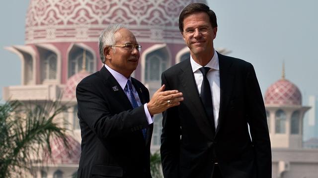 Rutte acht grotere rol Maleisië in onderzoek MH17 logisch