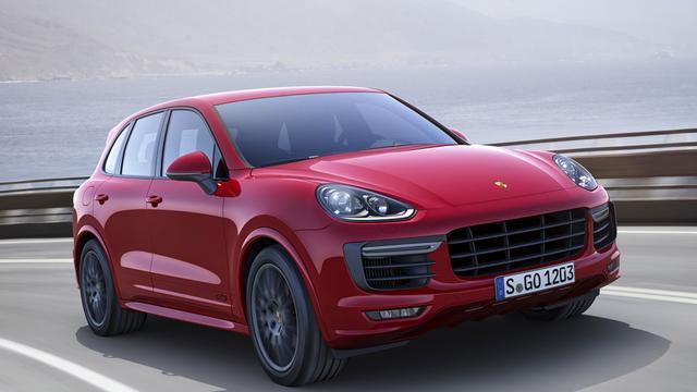 Porsche vernieuwt Cayenne GTS