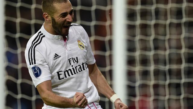 Benzema weer beschikbaar voor competitieduel met Valencia