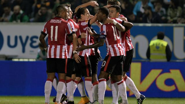 PSV zet grote stap richting knock-outfase Europa League