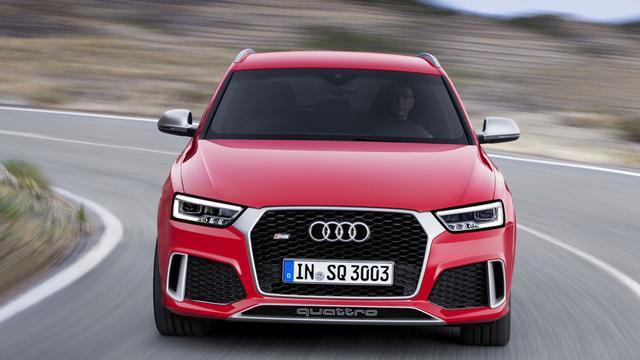 Audi facelift Q3 en RS Q3