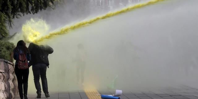 Politie Istanbul verjaagt betogers voor homorechten