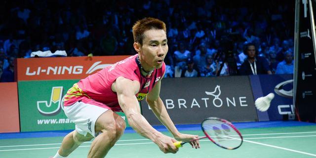 Positieve test badmintontopper Lee bevestigd