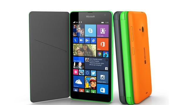 Microsofts eerste eigen Lumia is een budgettoestel