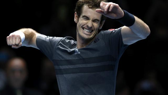 Murray wint wel van Raonic op ATP World Tour Finals