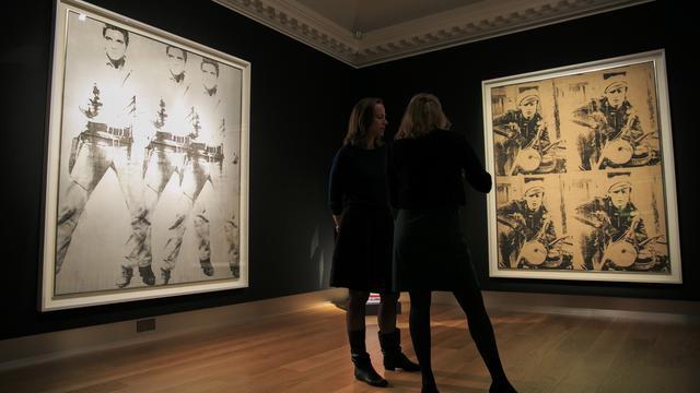 Zeldzame werken van Warhol en De Kooning onder de hamer