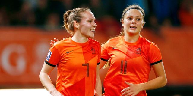 Oranjevrouwen met grote selectie op jacht naar eerste WK-ticket