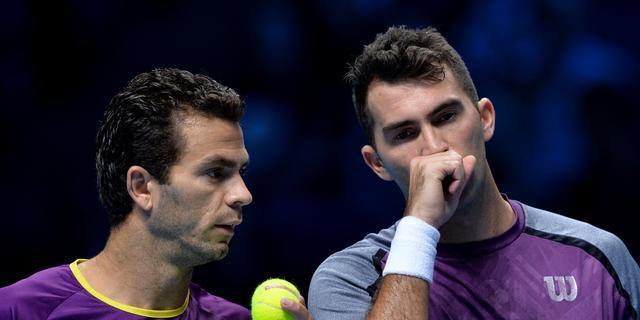 Rojer nipt onderuit in eerste wedstrijd ATP World Tour Finals