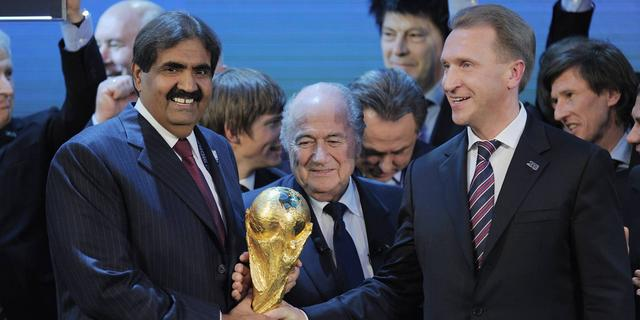 FIFA-rapport pleit Qatar en Rusland vrij van corruptie