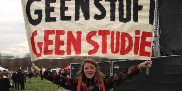 'Een derde van studenten leent geld om te sparen'