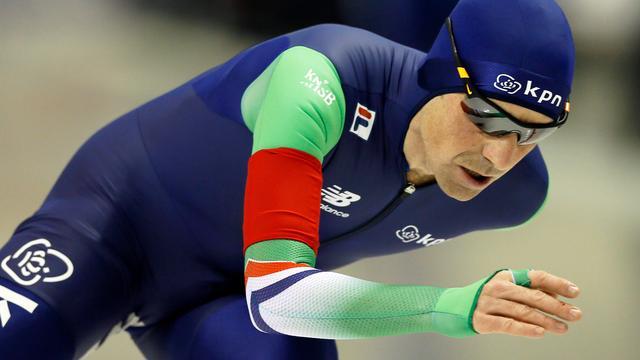 Bob de Jong vindt collega's op 10000 meter 'watjes'