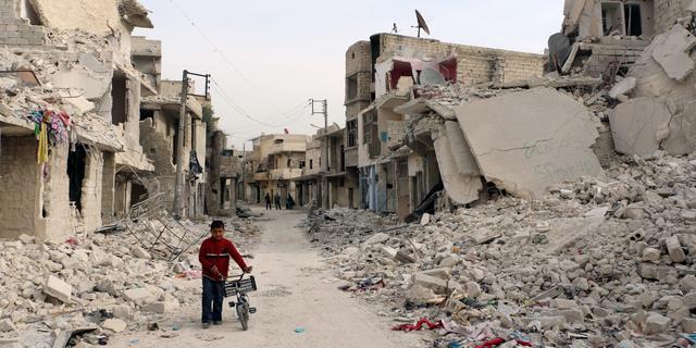 Met steun van Rusland in de rug, blijft Assad oorlogsmisdaden plegen