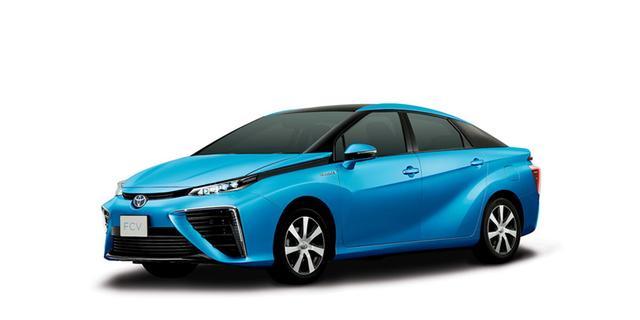 Toyota noemt waterstofauto Mirai