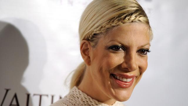 Tori Spelling had affaire met Beverly Hills-collega Jason Priestley