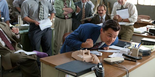 The Wolf of Wall Street meest illegaal gedownloade film van 2014