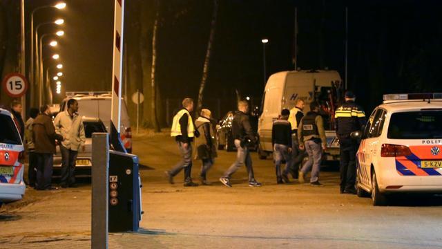Weer politie op de been om onrust asielzoekerscentrum Overloon