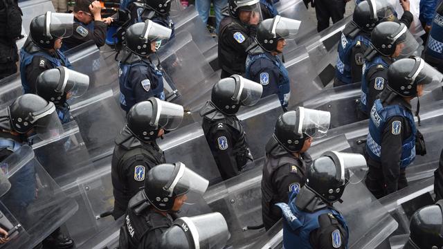 Groot protest in Mexico om verdwenen studenten