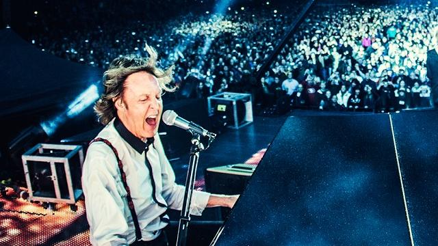 Android-app toont optreden Paul McCartney in 360 graden