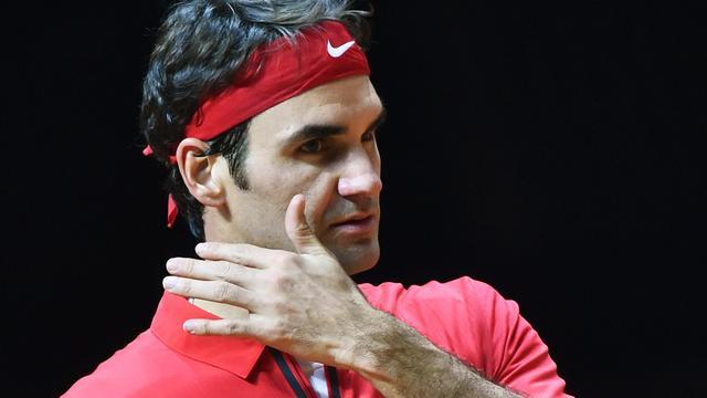 Federer hard onderuit, Wawrinka verslaat Tsonga