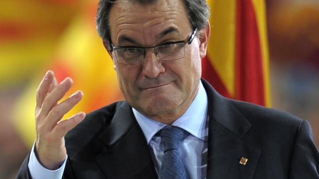 Catalaanse regiopresident Artur Mas treedt af