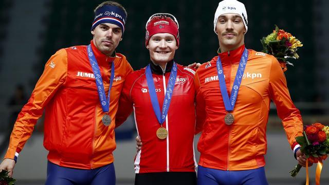 Pedersen blijft Olde Heuvel en Nuis voor op 1500 meter