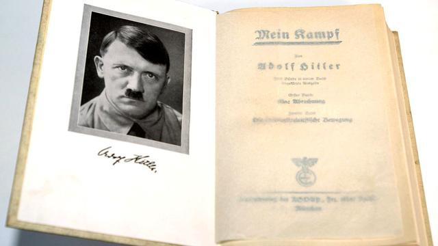 Jongerentak VVD roemt verkoper Mein Kampf