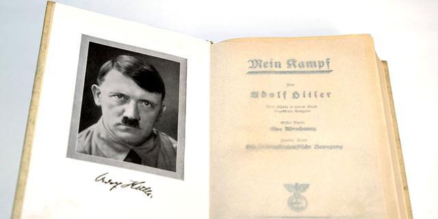 Hitlers eigen exemplaar van Mein Kampf geveild
