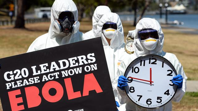 Bijna zesduizend doden door ebola