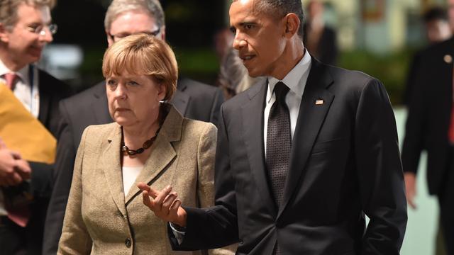 'Geen bewijs voor afluisteren telefoon Merkel door VS'