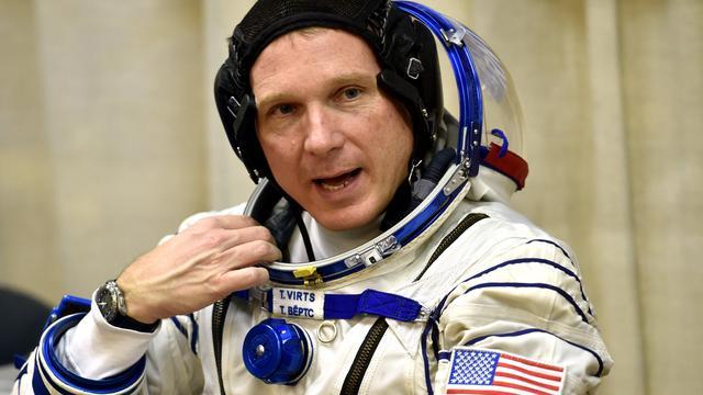Nieuwe bemanningsleden ISS aangekomen