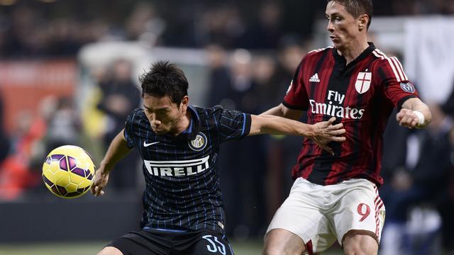 AC Milan en Internazionale spelen gelijk bij rentree Mancini
