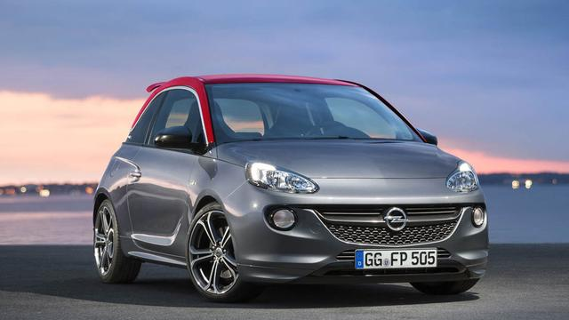 Opel Adam S heeft prijs