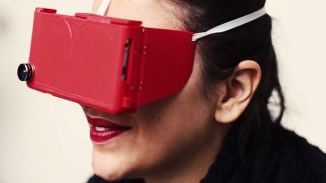 Pinc combineert virtual reality-bril met iPhone-hoes