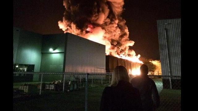 Grote brand woedde bij kunststofverwerker in Venray