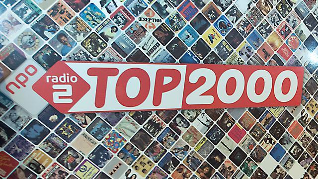 TV-opnames Top 2000 Journaal op de Neude
