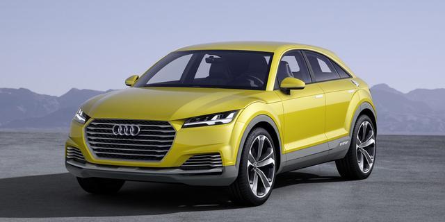 Audi overweegt productie TT Offroad