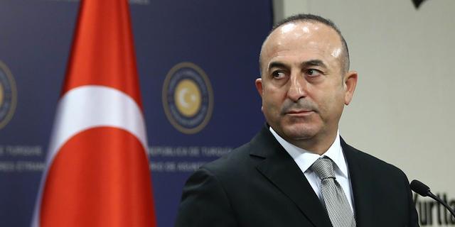 Turkse minister Cavusoglu arriveert in Metz