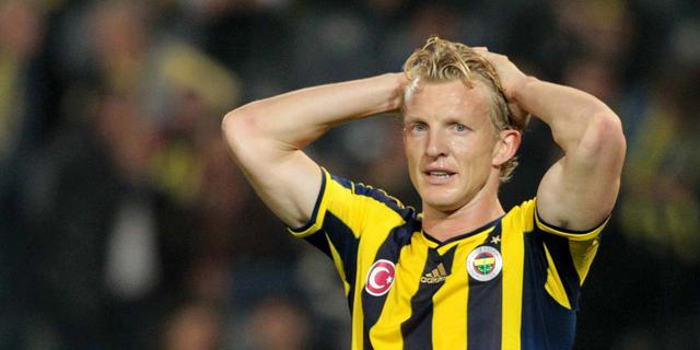 Kuijt en Fenerbahçe verspelen koppositie aan Galatasaray